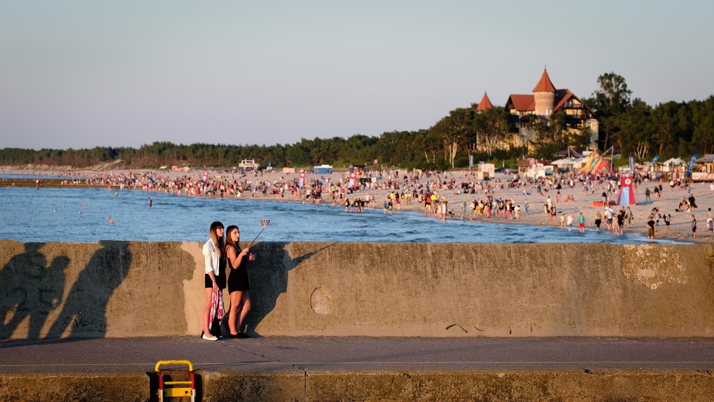 Strand von Leba, Polen