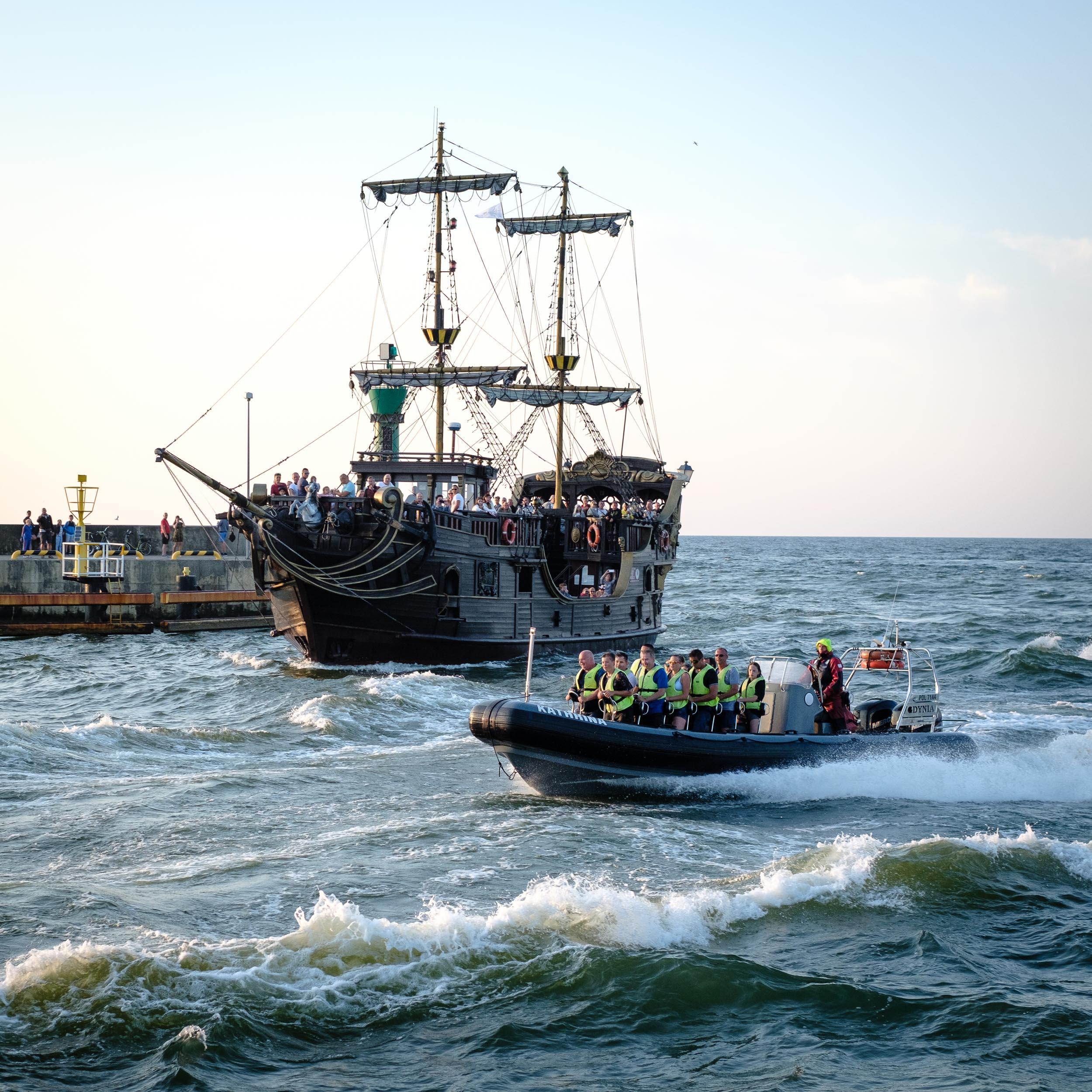 Schiffe Leba, Polen