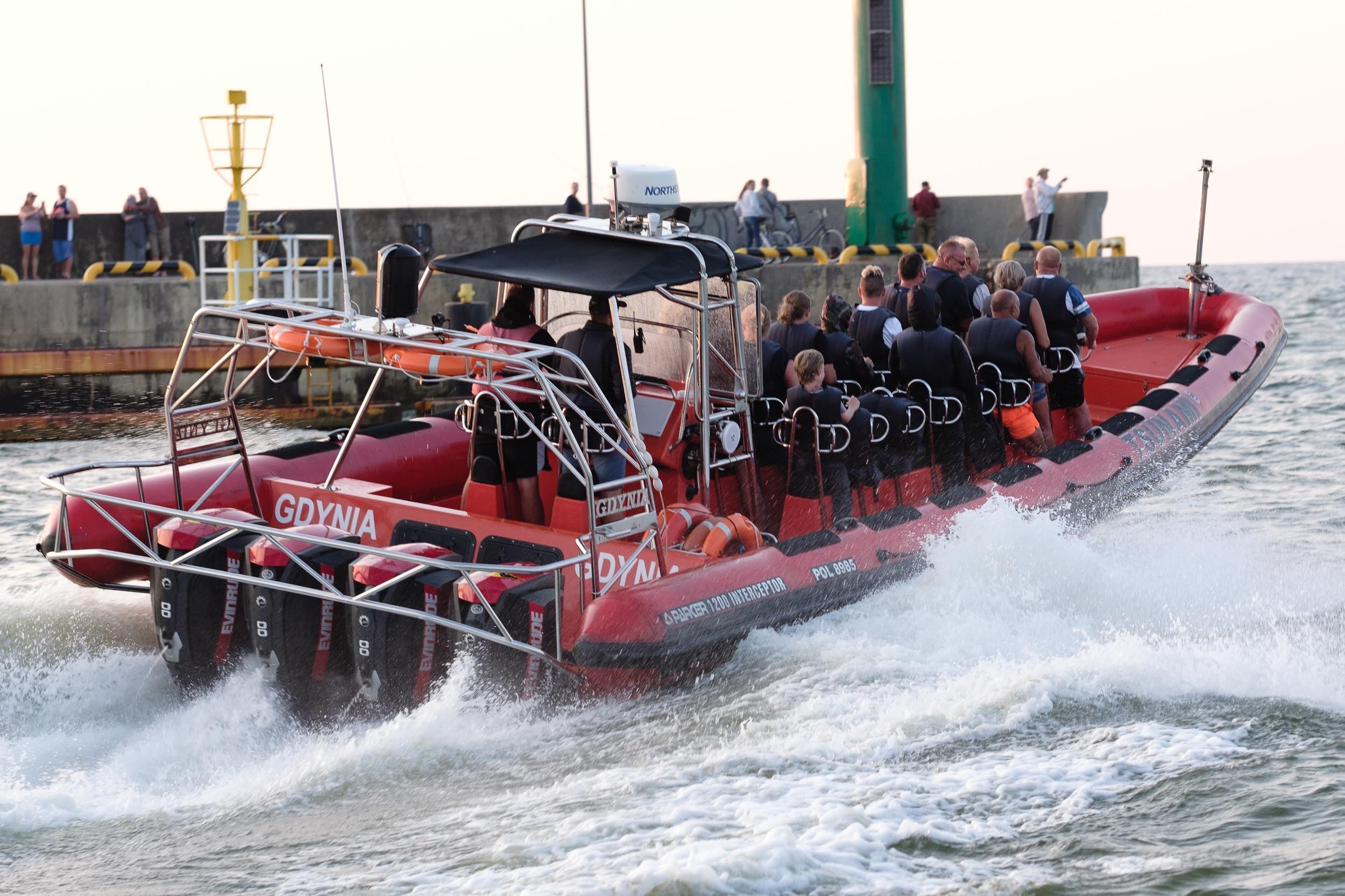 Motorboot Leba, Polen