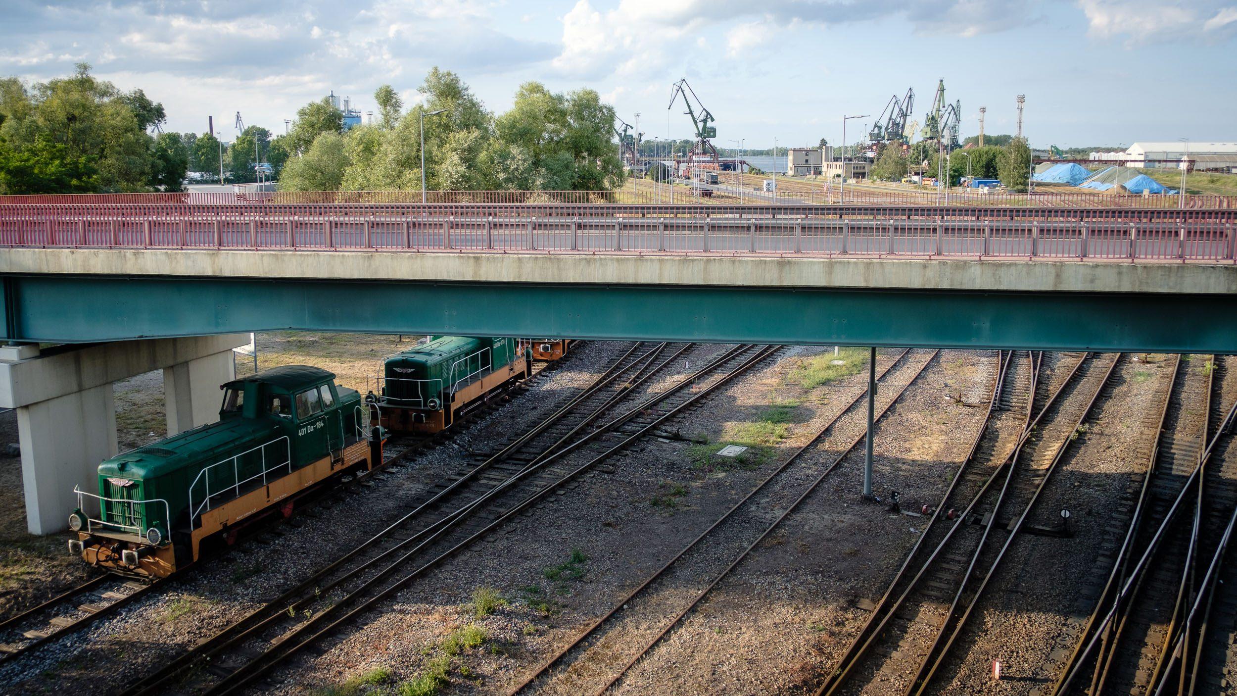 Bahnanlage Stettiner Hafen