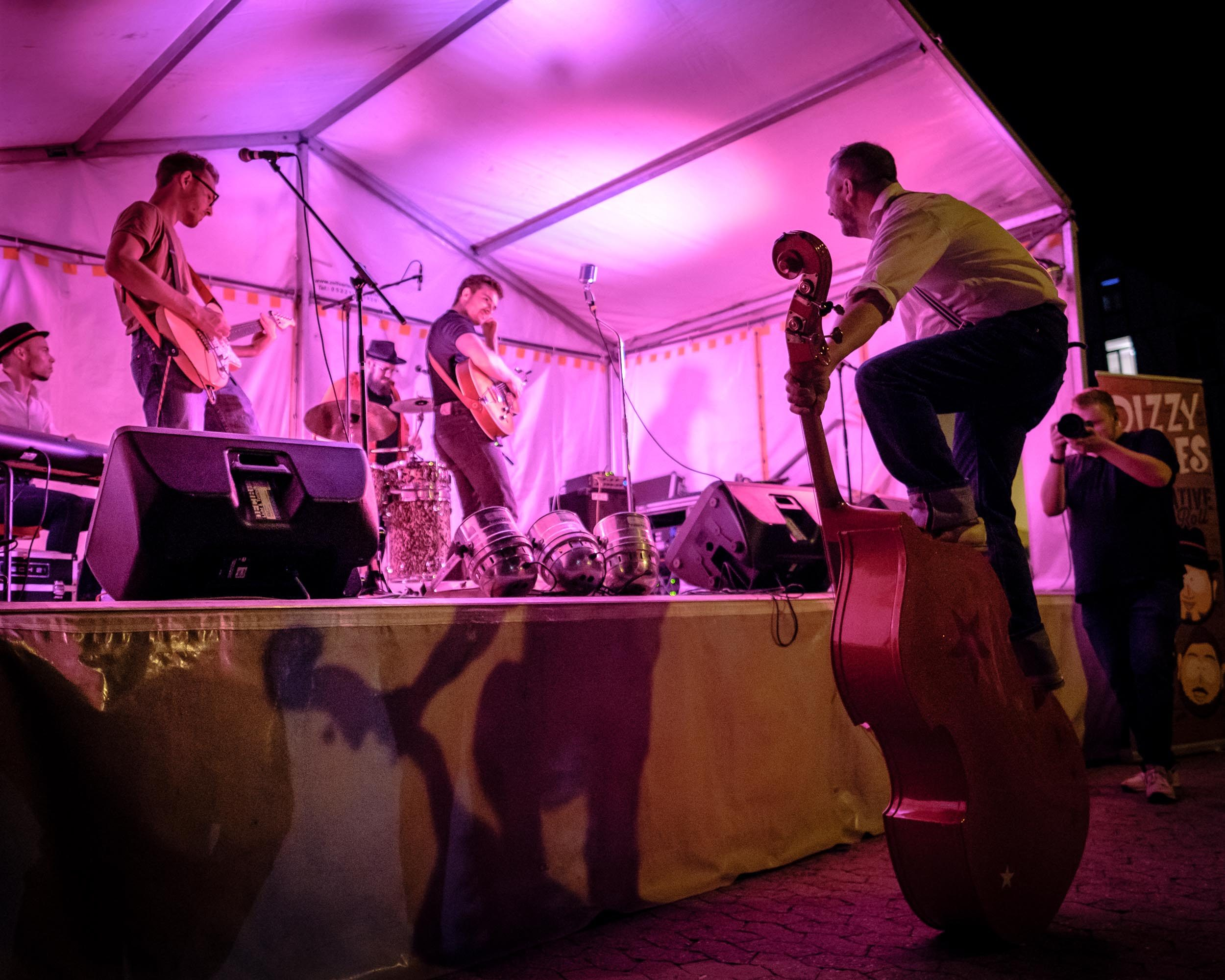 Dizzy Dudes Konzert Vlotho Herblaub&Winterfest 2019