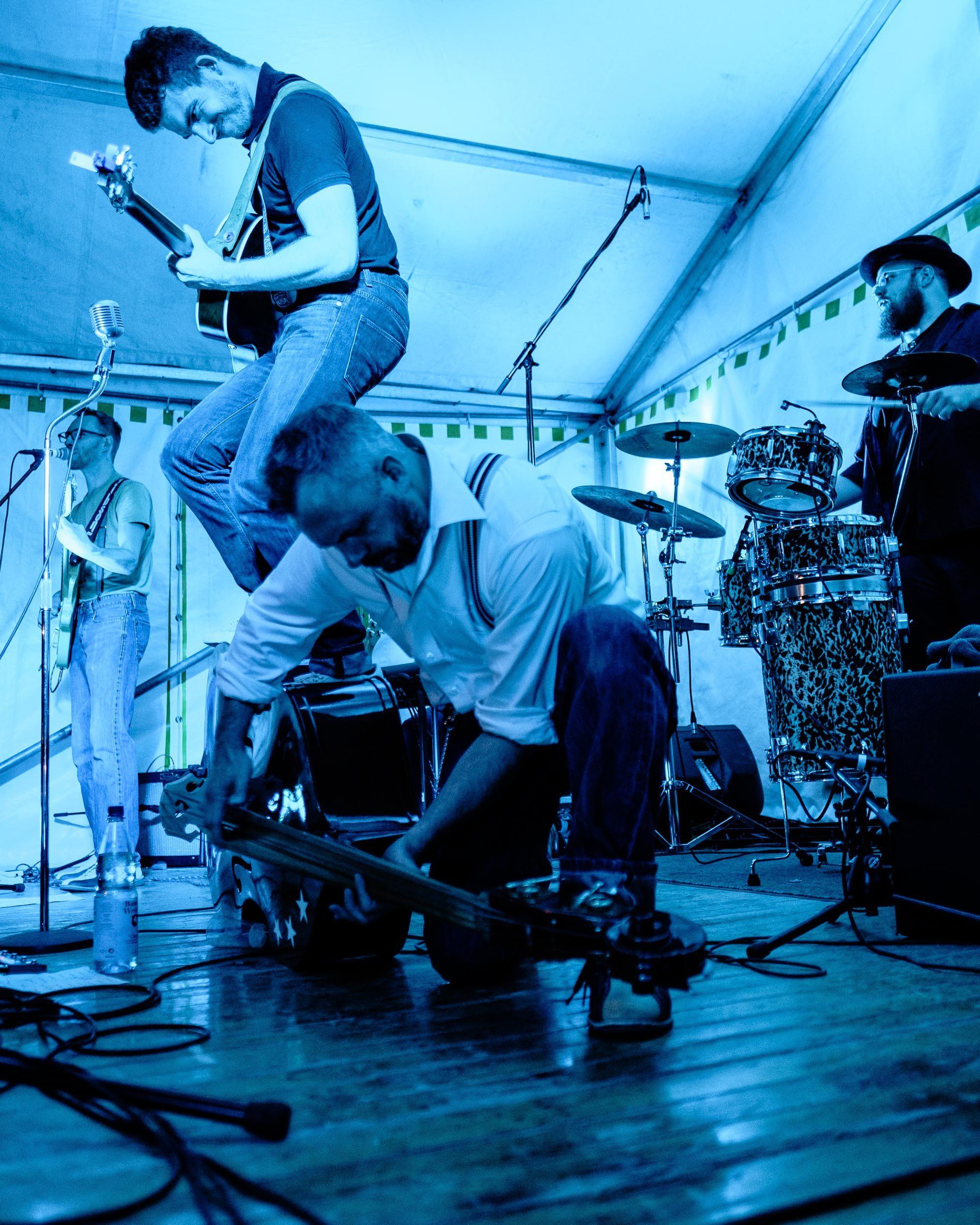 Ole und Maik, Dizzy Dudes, Konzert Vlotho Herblaub&Winterfest 2019