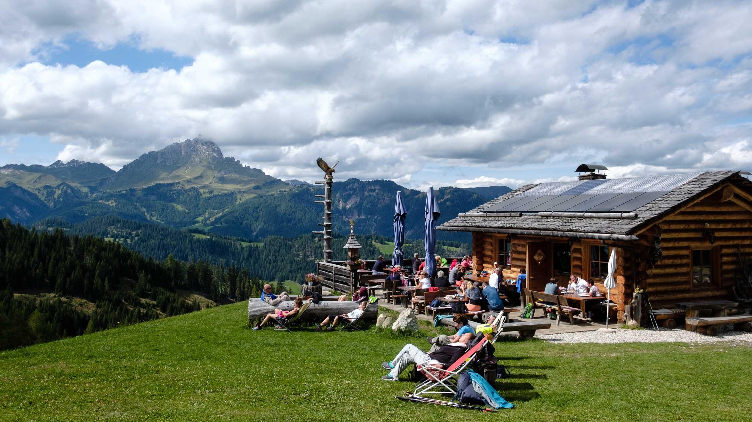 Ranch da Andrè, Dolomiten