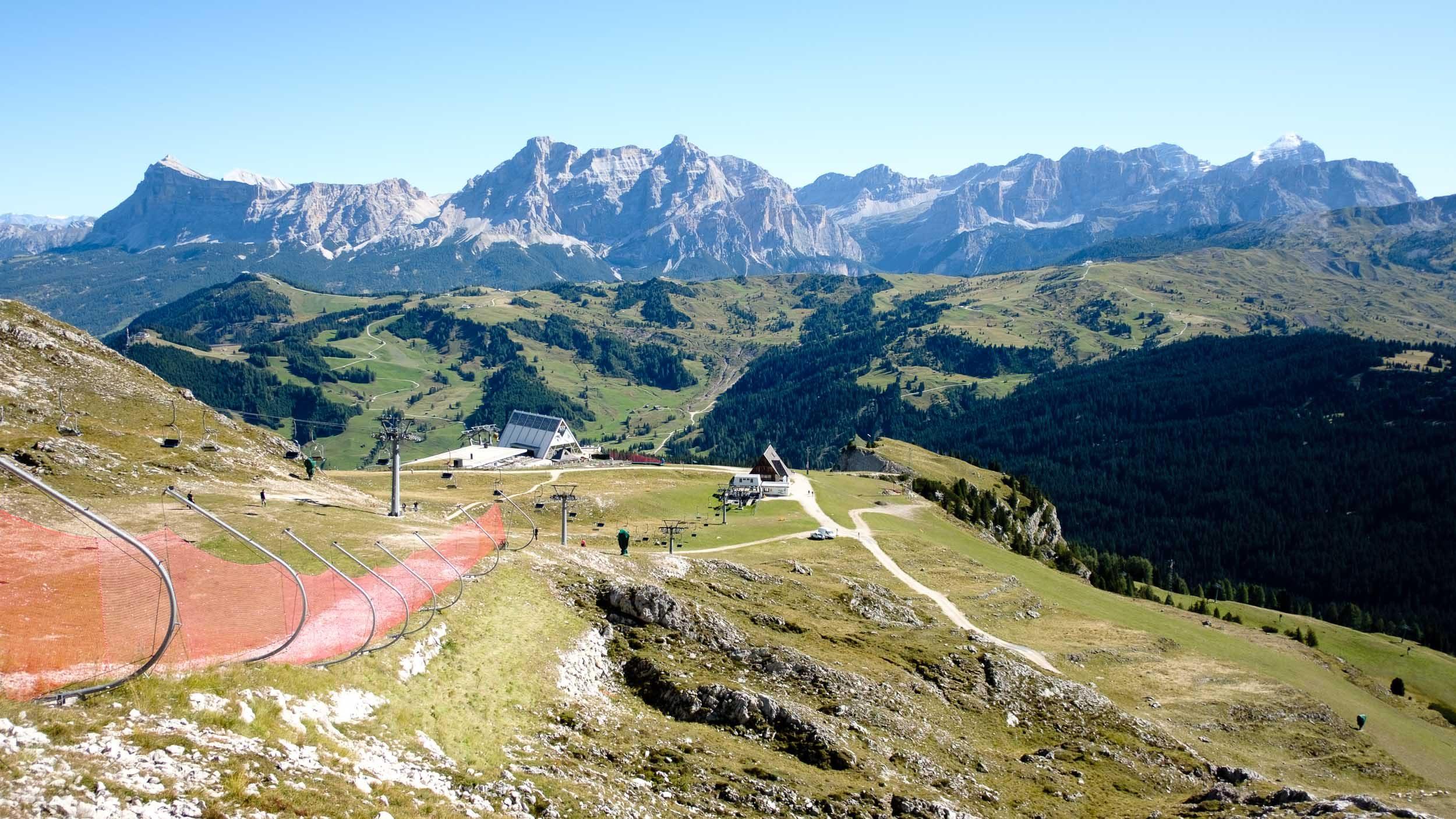 Bergstation Boé, Naturpark Fanes-Sennes-Prags