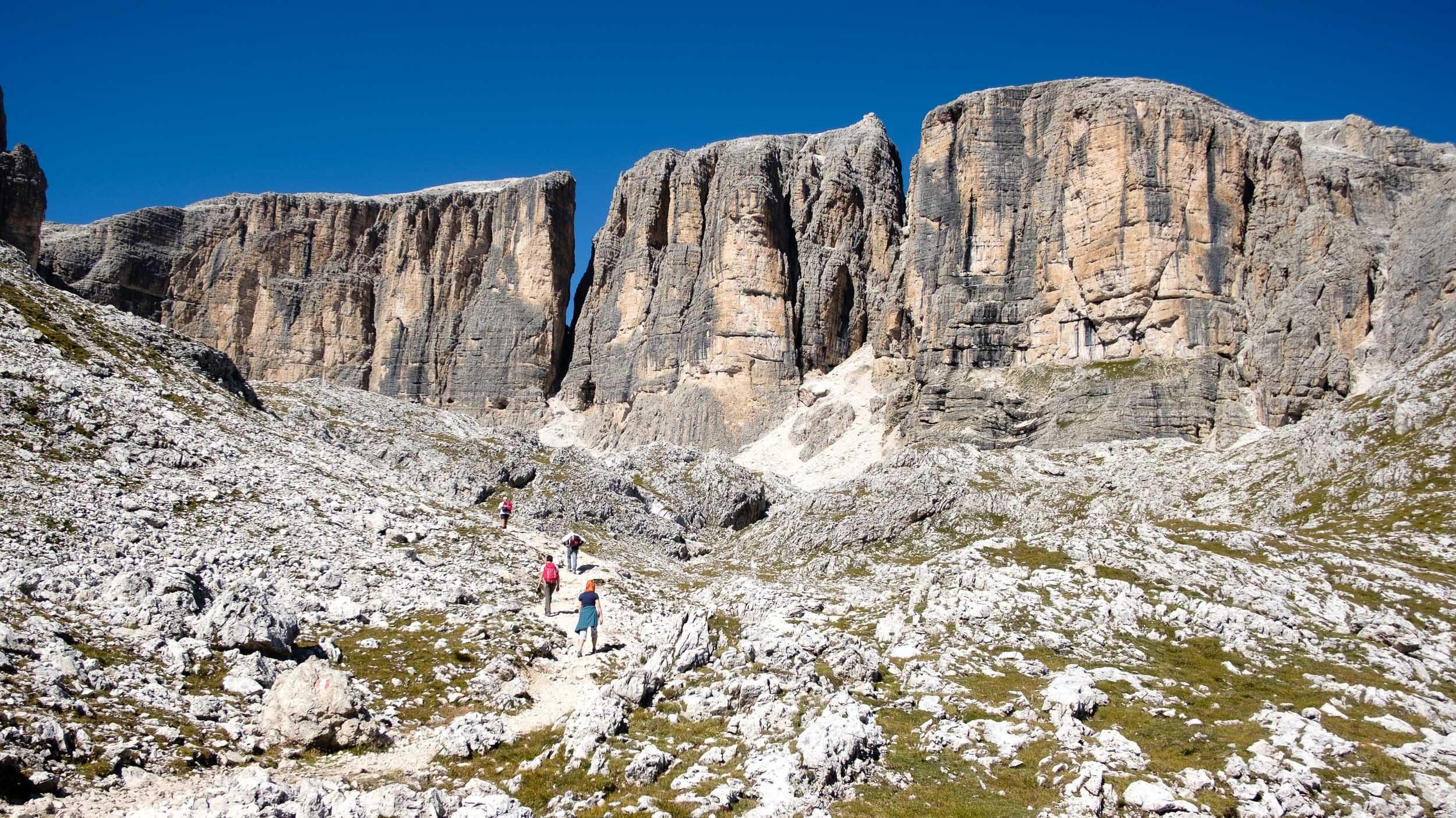 Sella, Dolomiten, Italien