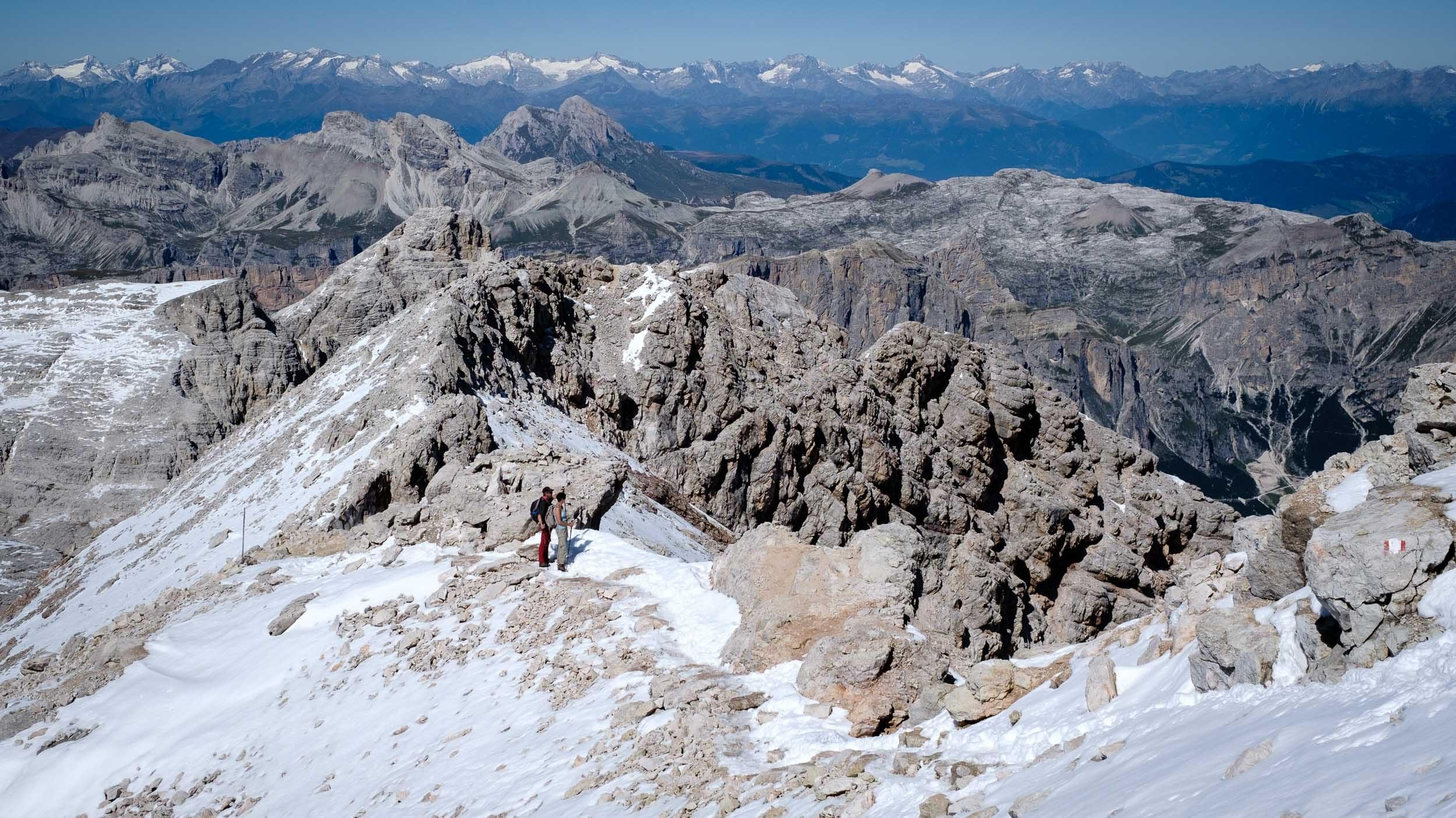 Piz Boé, Sella, Dolomiten, Italien