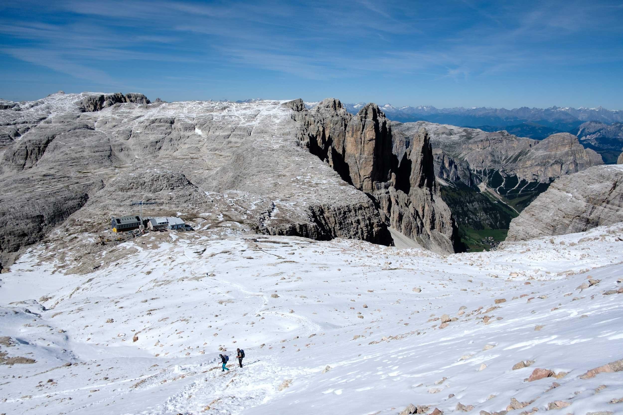 Rifugi Boé, Sella, Dolomiten, Italien