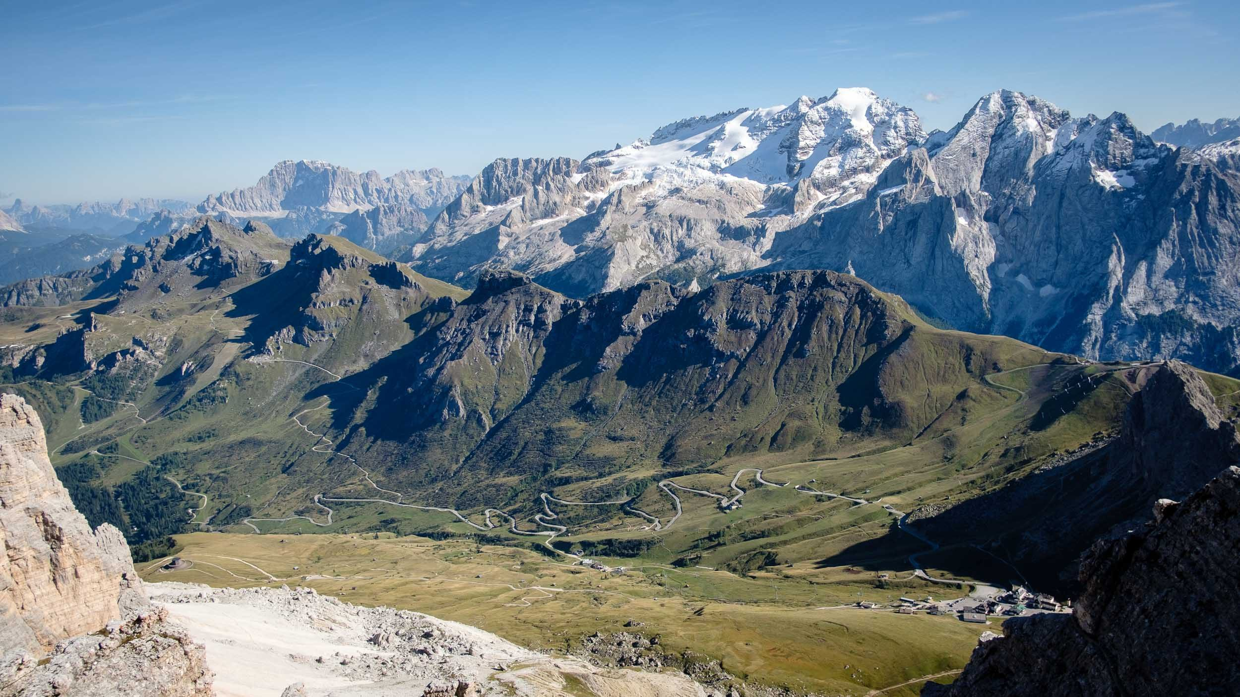 Passo Pordoi, Sella, Dolomiten, Italien