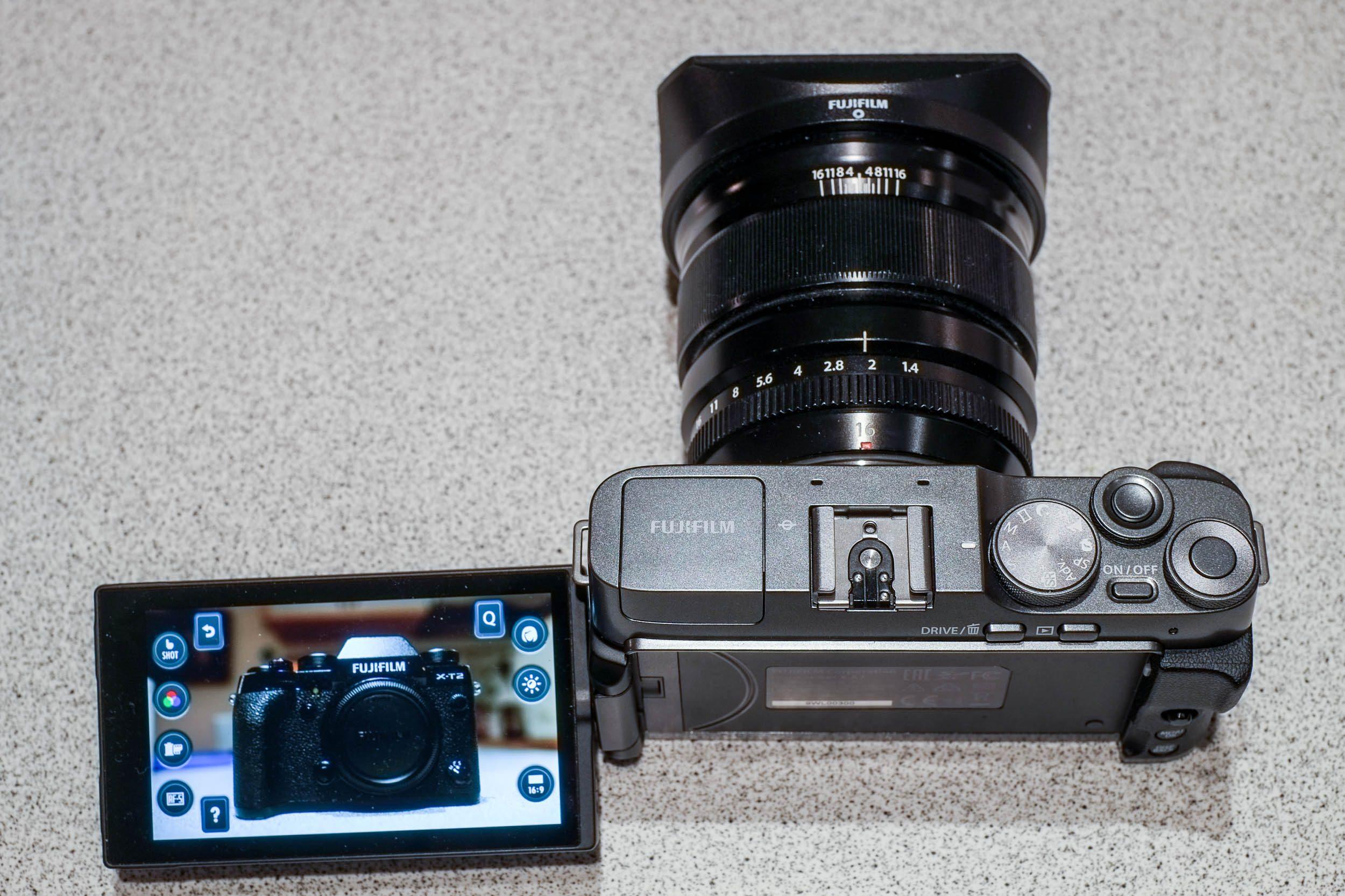 Menü Fujifilm X-A7