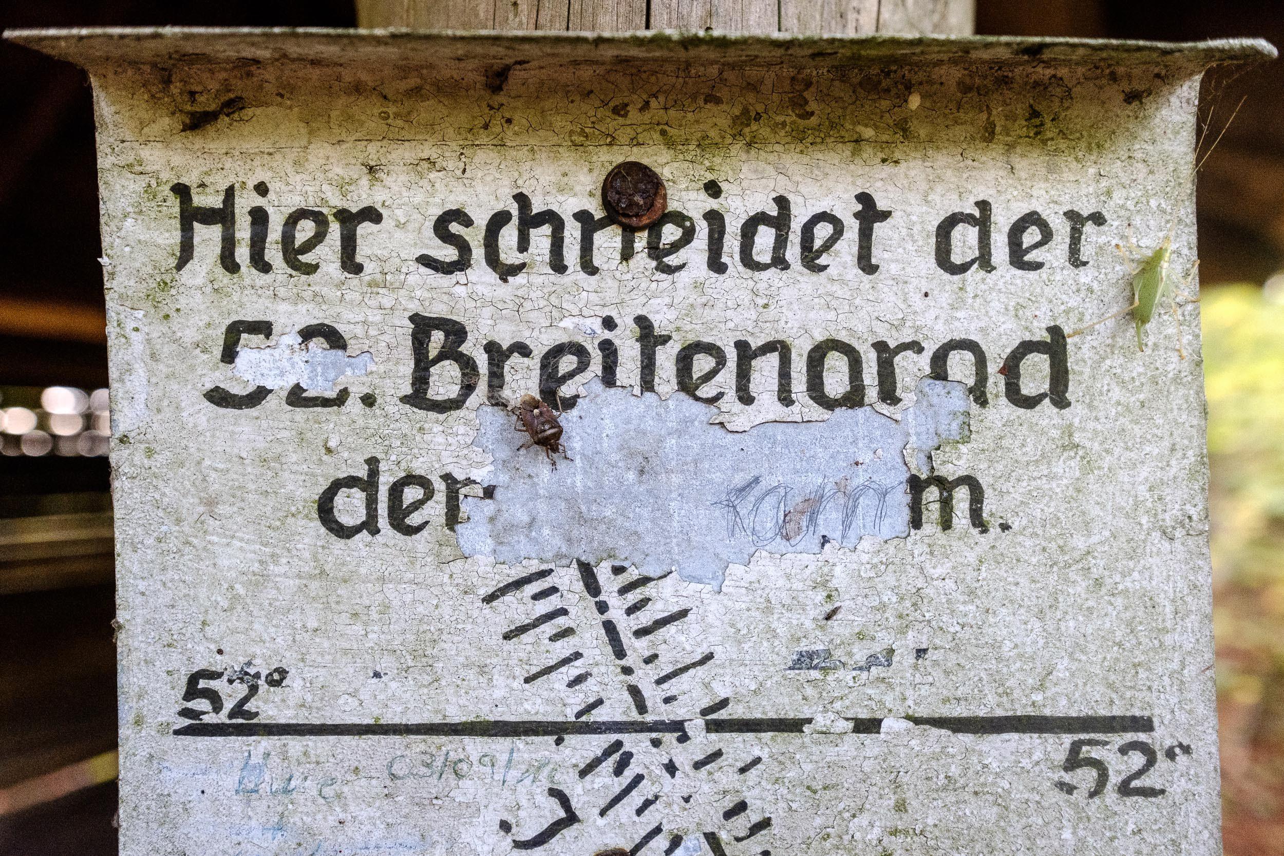 52. Breitengrad Ith Kammweg, Weser-Leine-Bergland