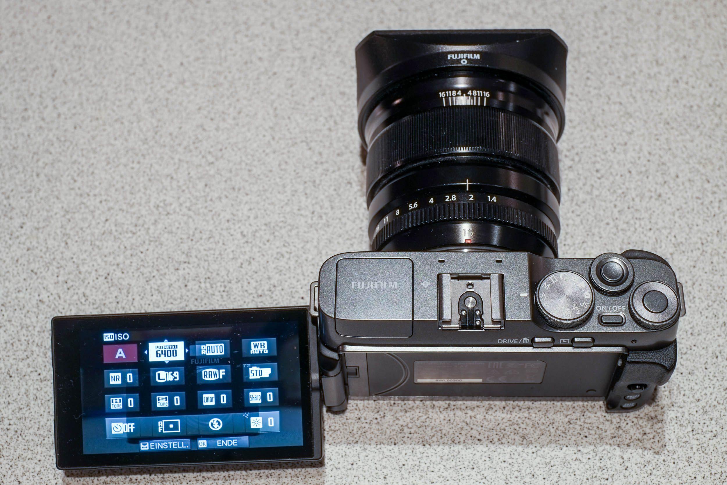 Q-Menü Fujifilm X-A7