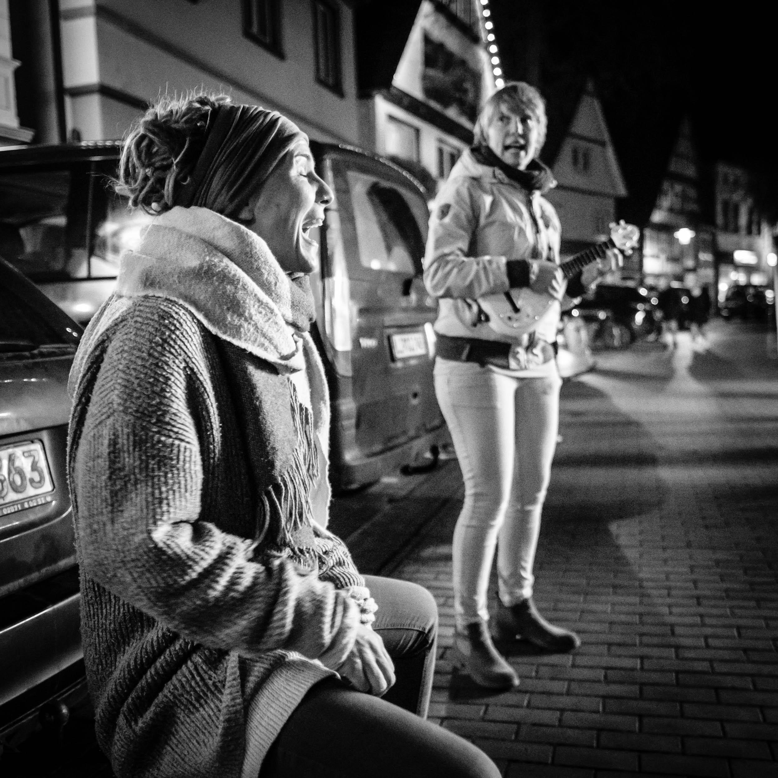 a.mie Straßenmusikerinnen in Vlotho