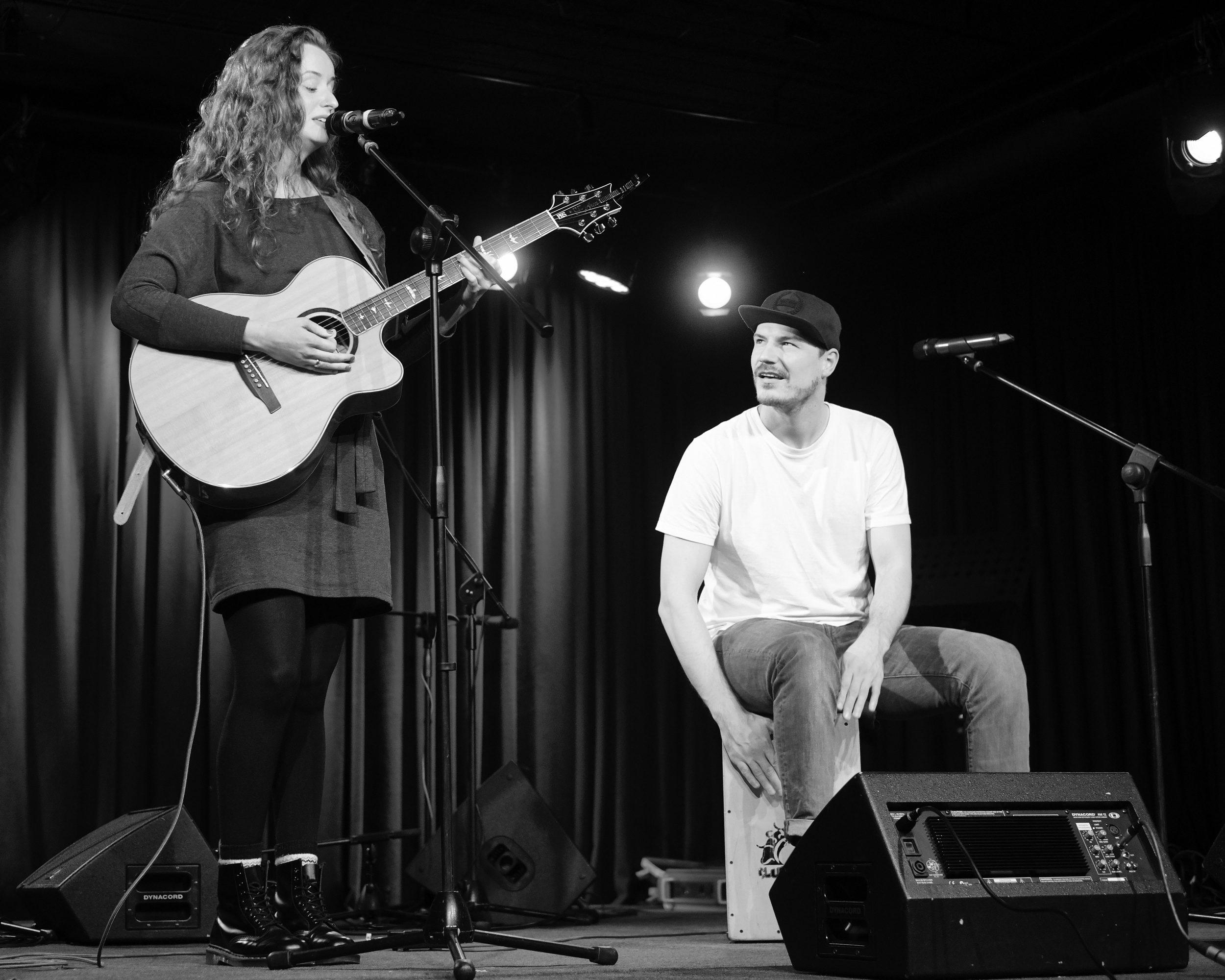 Luisa und Tom Openstage Kulturbüro Jugenfreizeitstätte Vlotho 2019