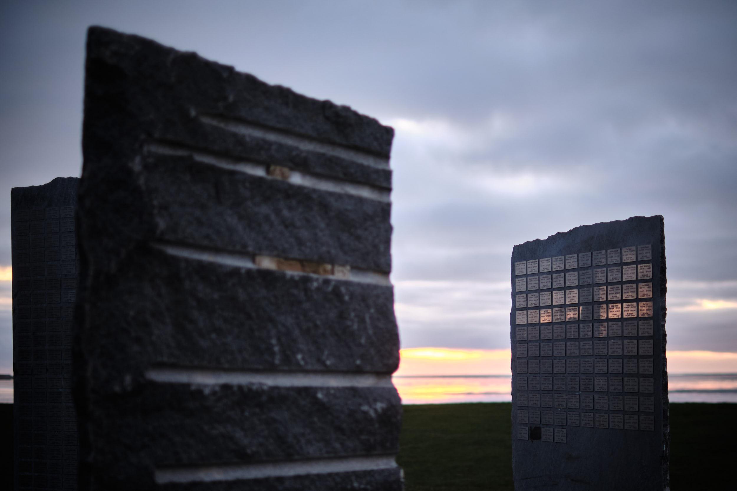 Gedenkstätte Meeresblick Seebestattungen Norddeich Mole Plaketten