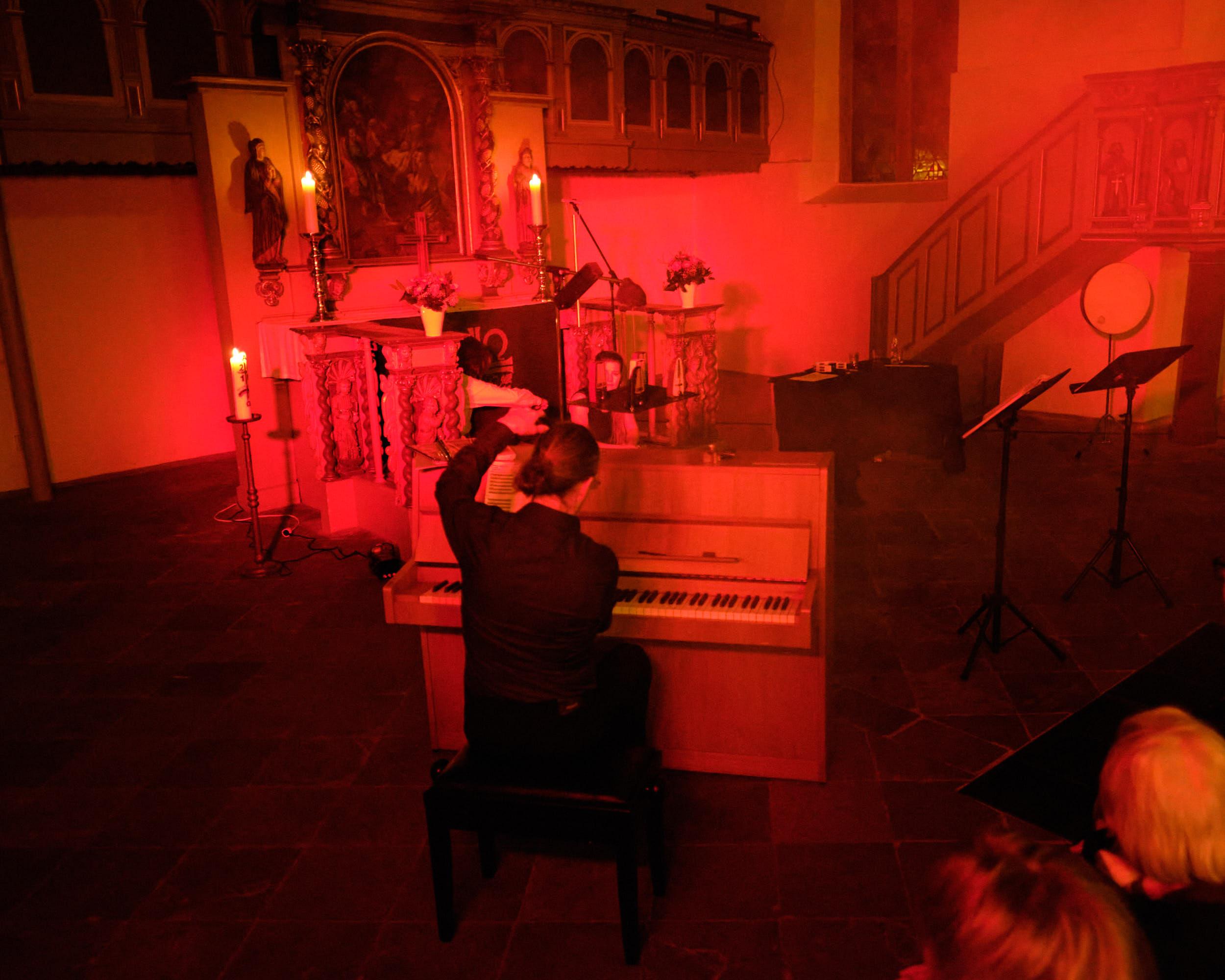 Eckhard Wiemann Klavier Spread Voice Konzert St.-Stephanskirche Vlotho 2020