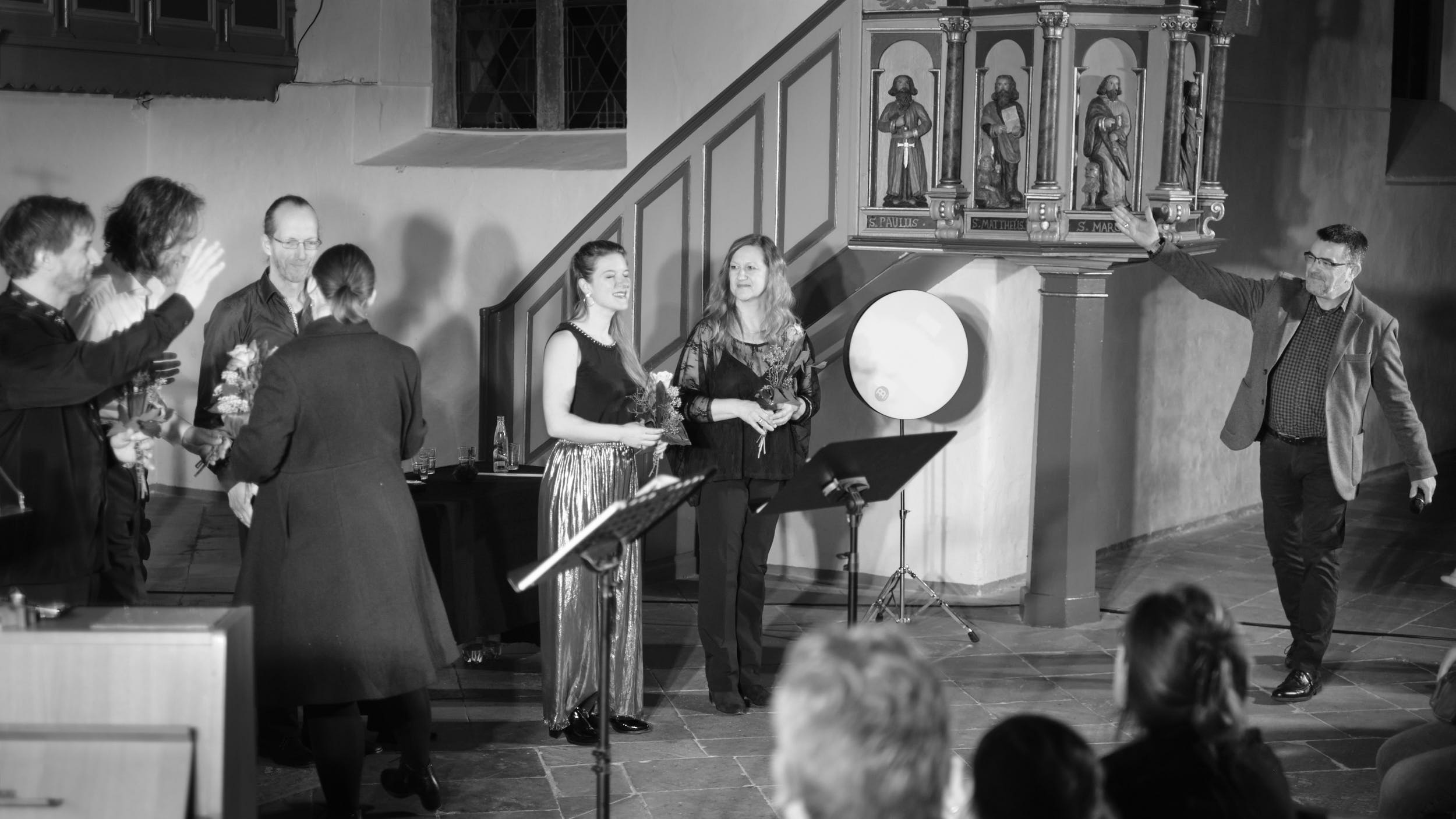 Applaus Spread Voice Konzert St.-Stephanskirche Vlotho 2020