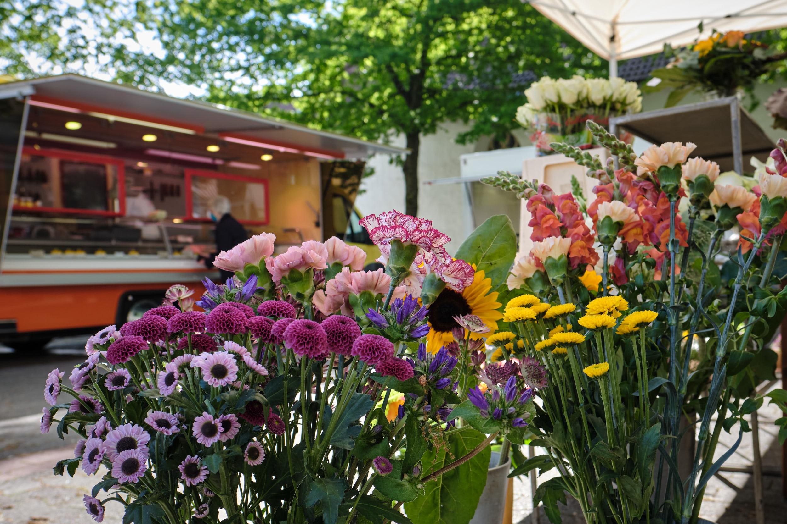 Wochenmarkt Kirchplatz Vlotho