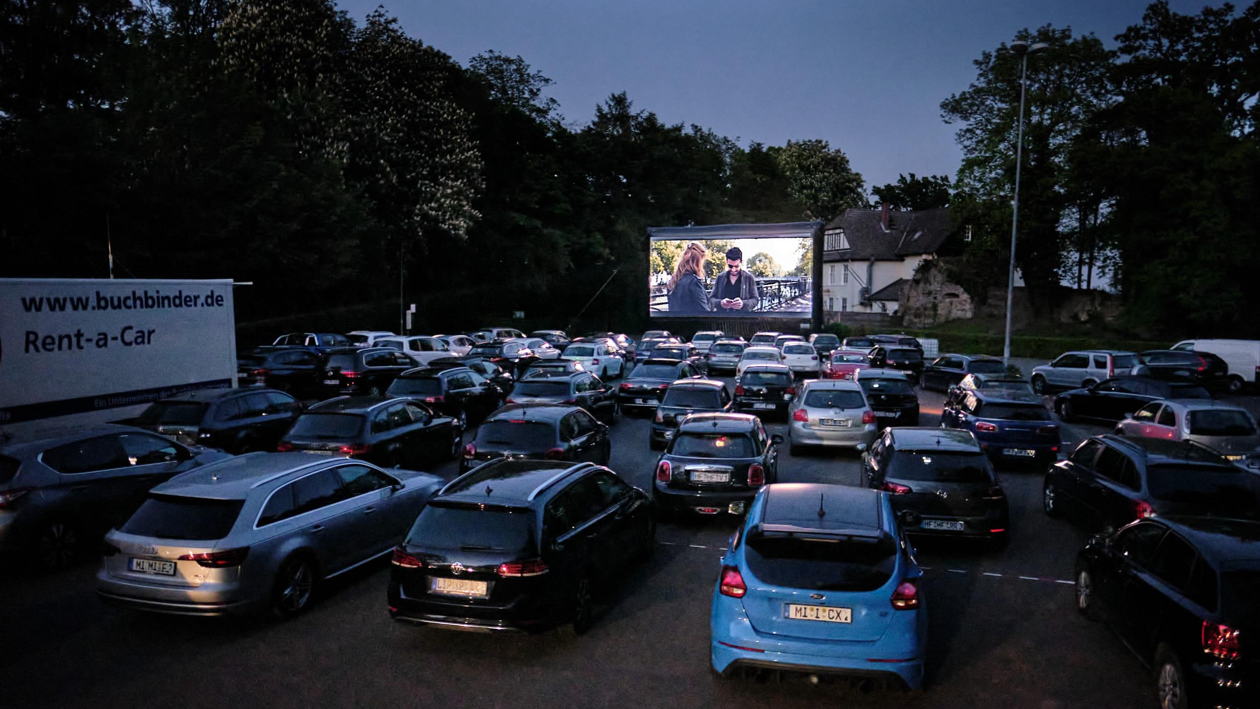 Autokino Vlotho Burg 2020