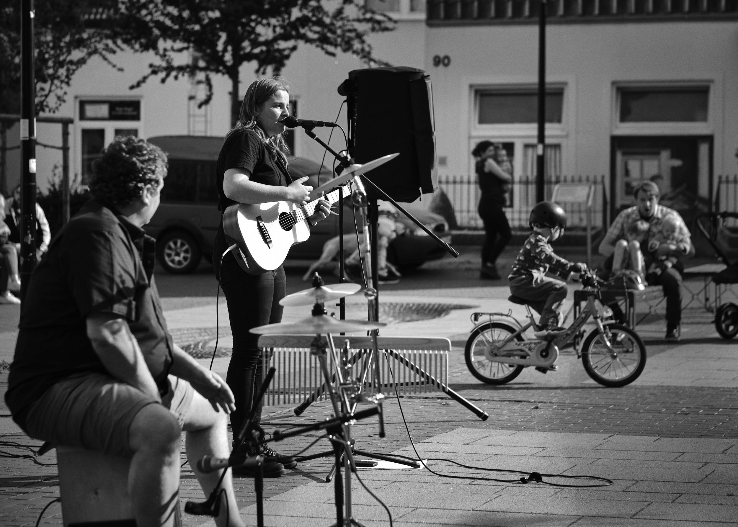 Marceline Daukant, Sommerfelder Platz, Vlotho, Kultursommer Vlotho 2020