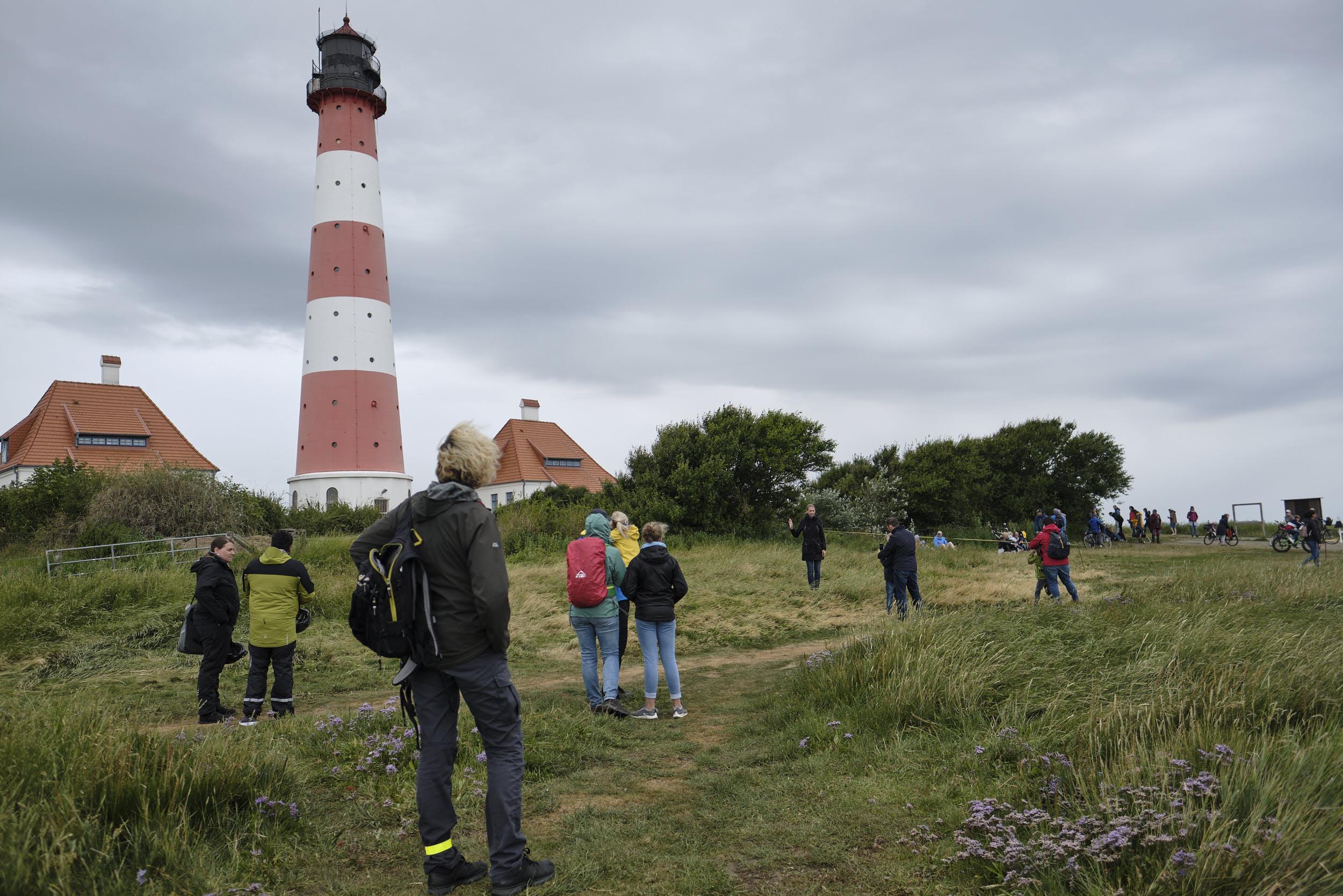 Besucher Leuchtturm Westerheversand 2020