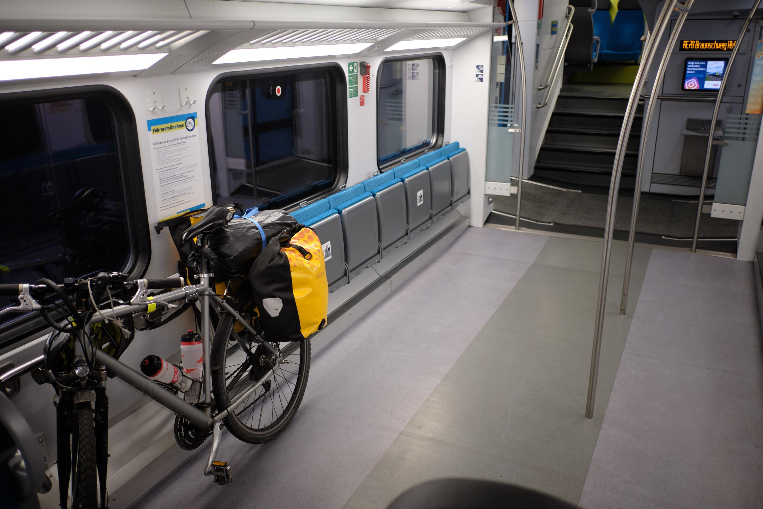 Fahrradmitnahme Regionalexpress