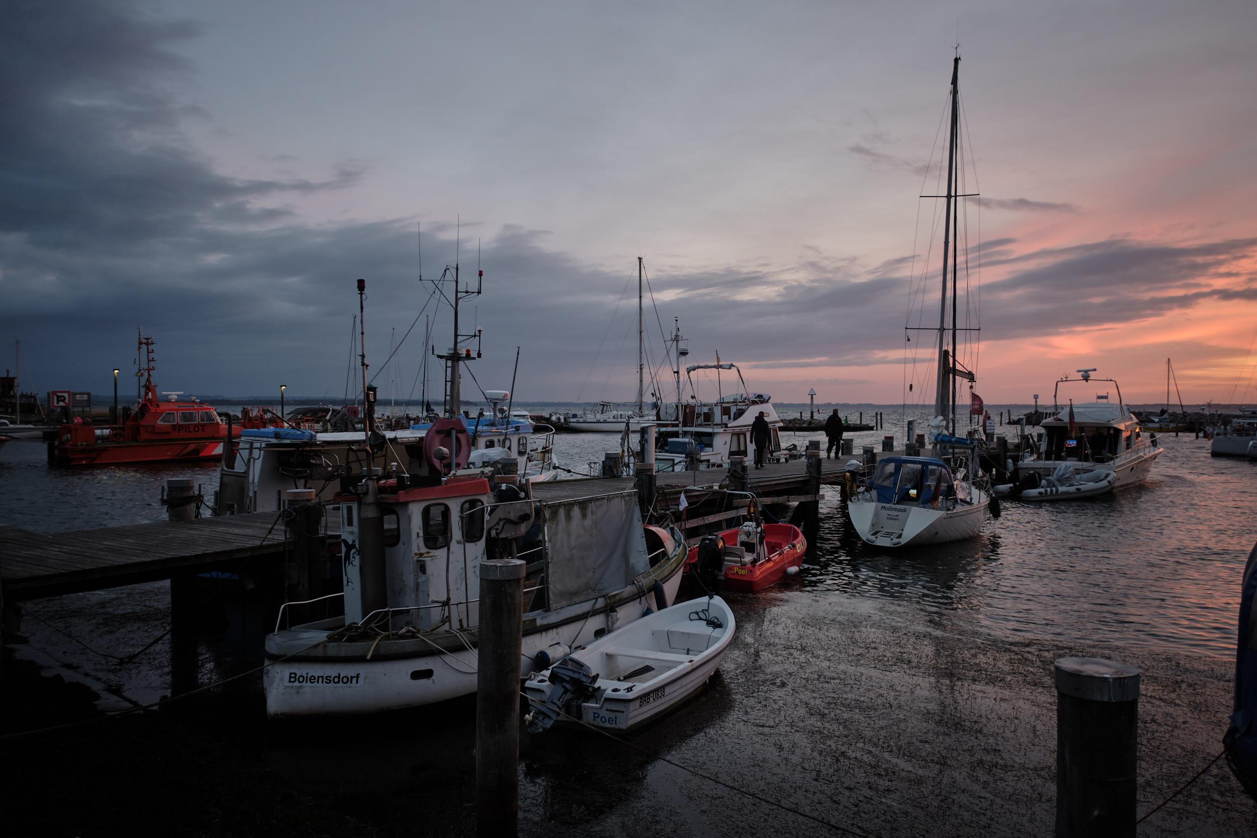 Hafen Insel Poehl