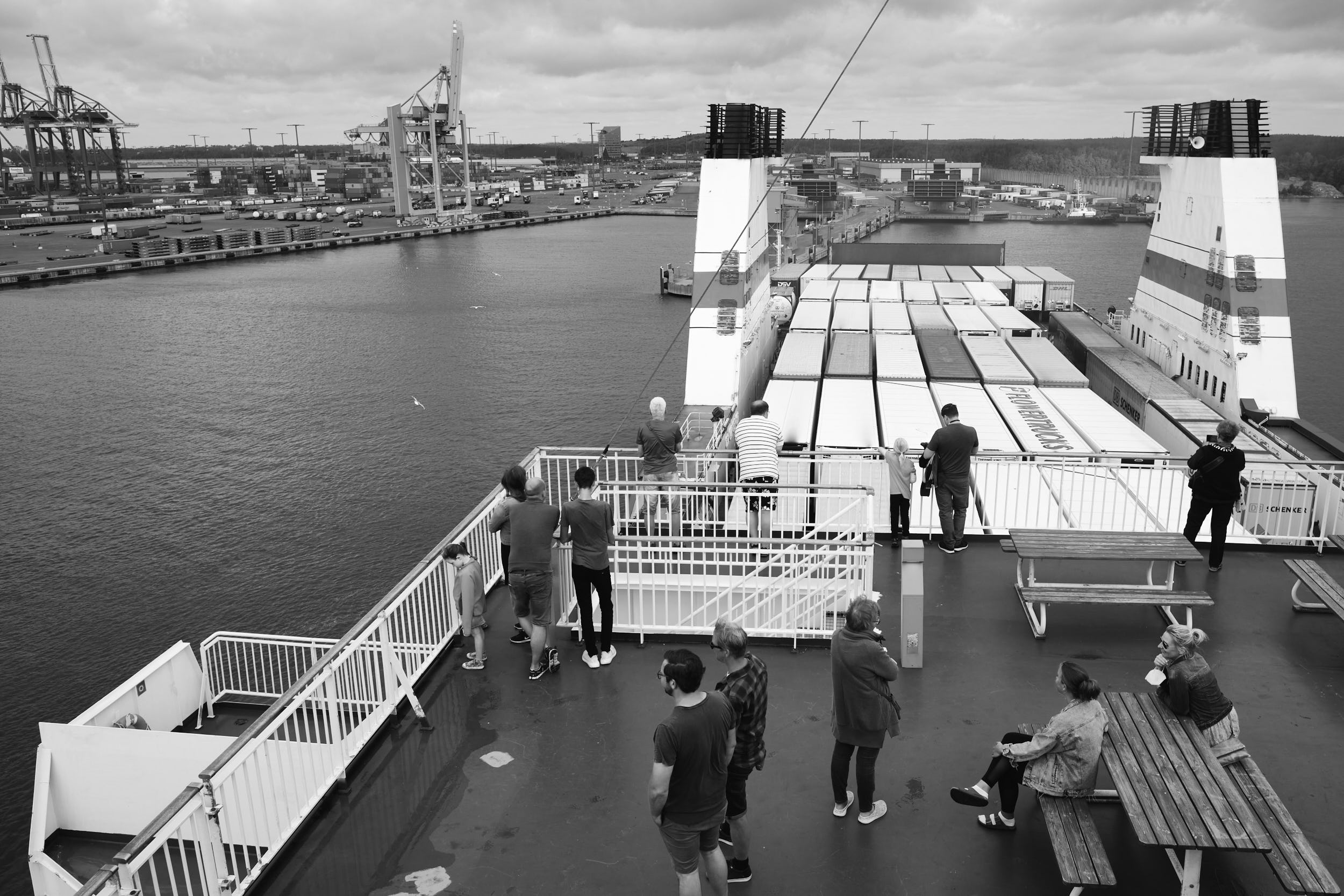 Ankunft Finnlady Helsinki Hafen