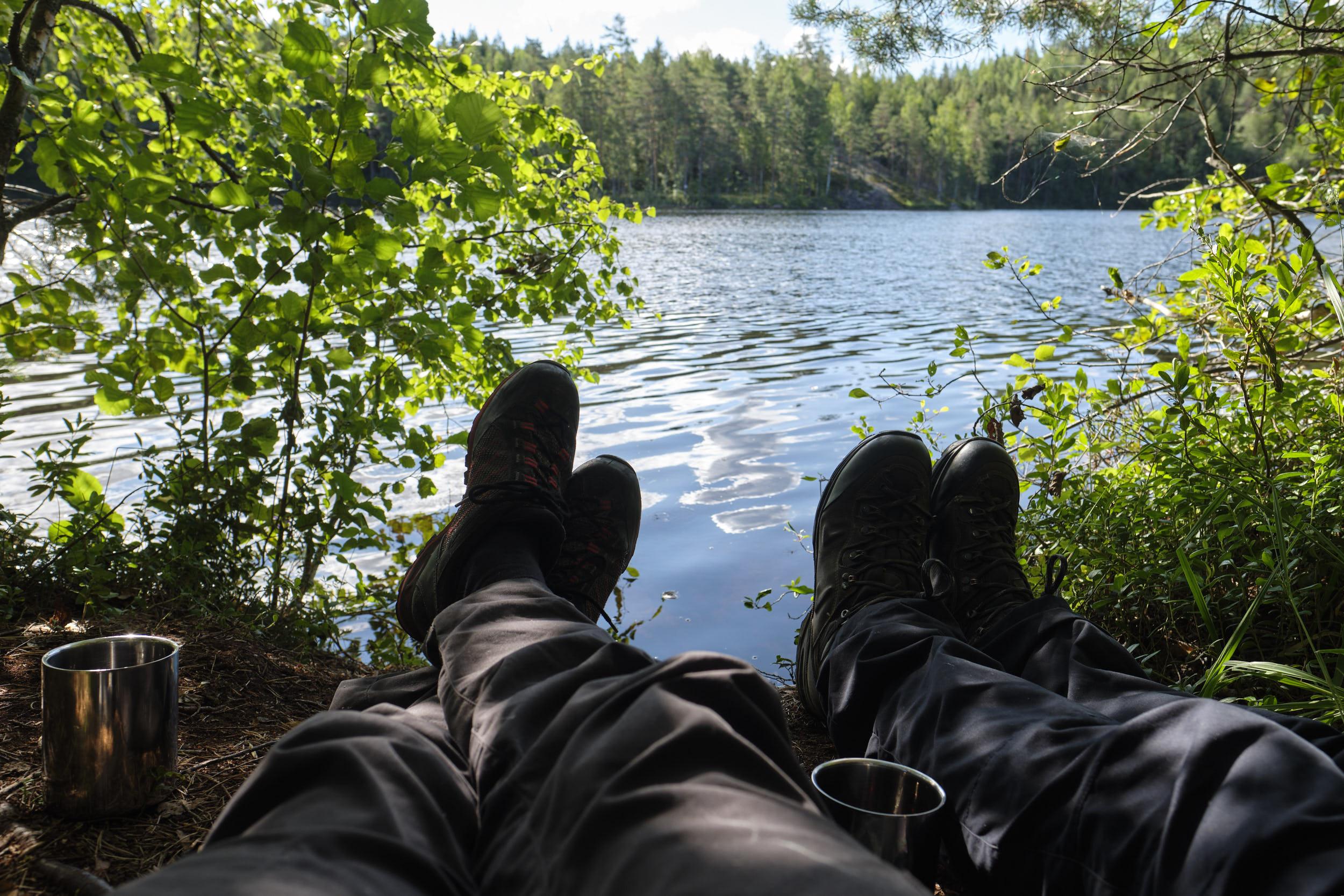 am See Karjolahti - Repovesi Nationalpark Finnland