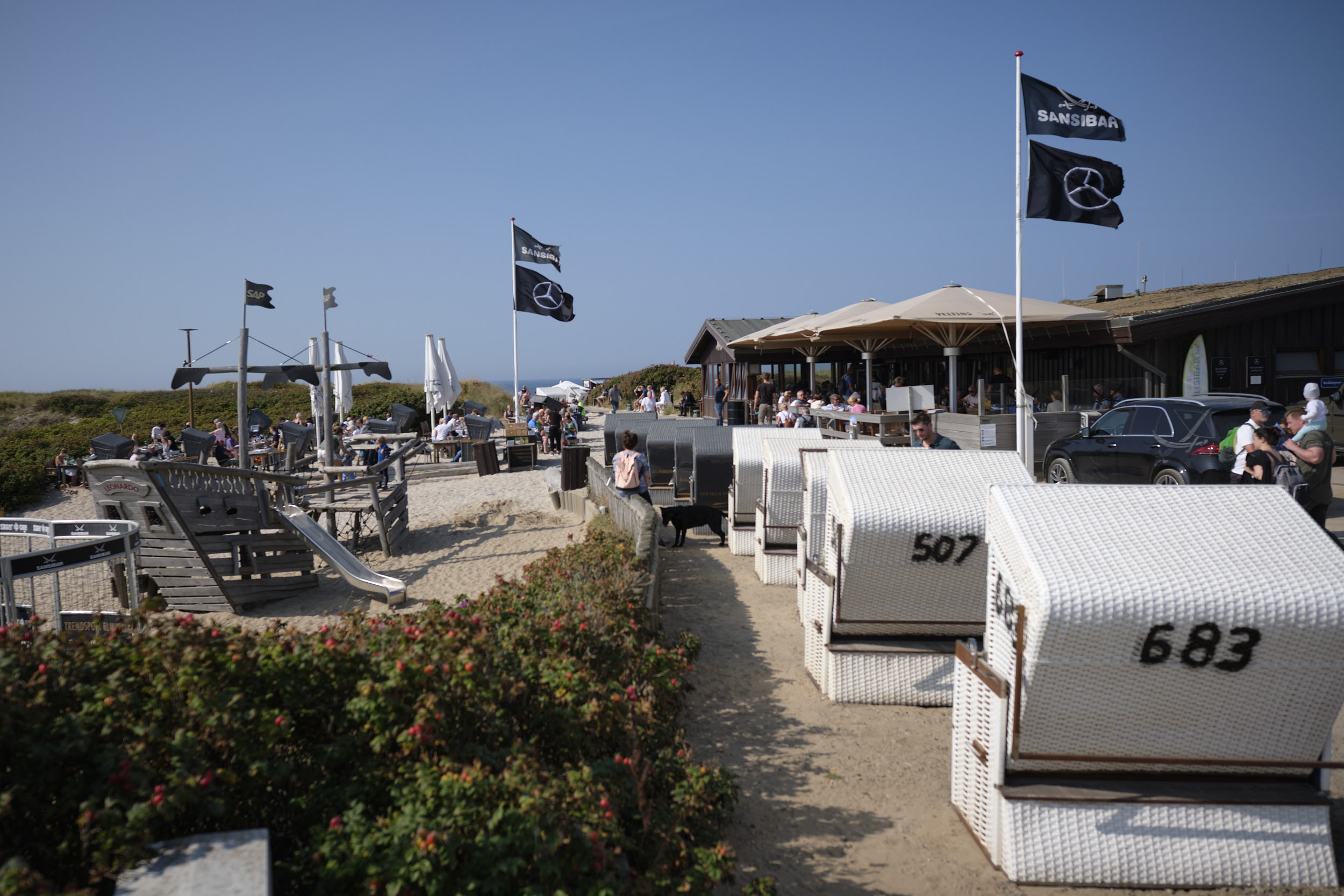 Restaurant ohne Meerblick auf Sylt