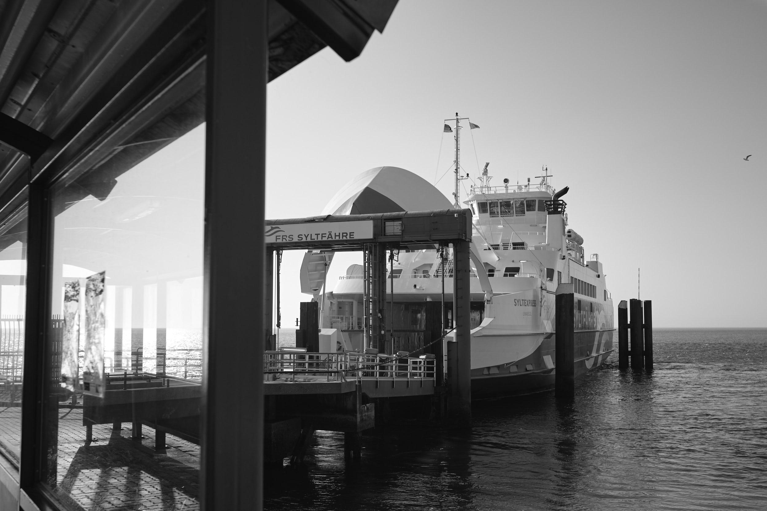 Grenz-Fähre List/Sylt nach Rømø/DK