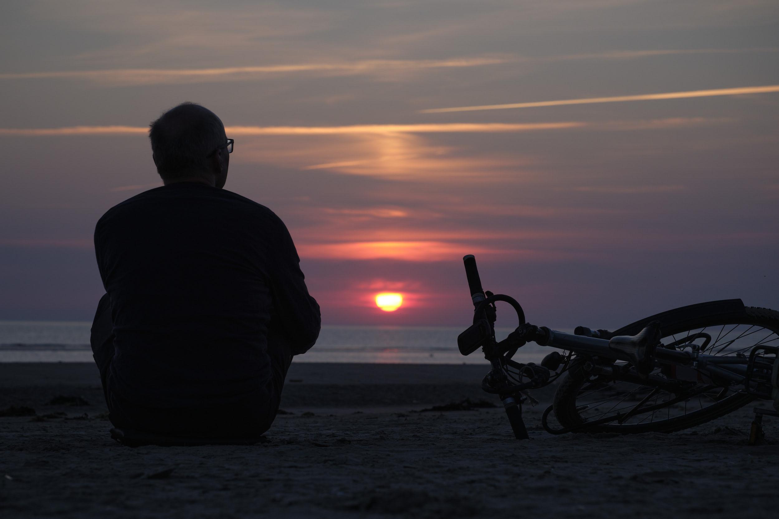 Sonne gucken auf Fanø