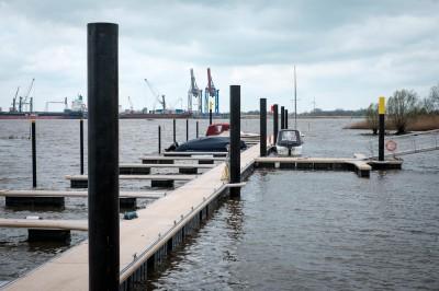 Sandstedter Hafen