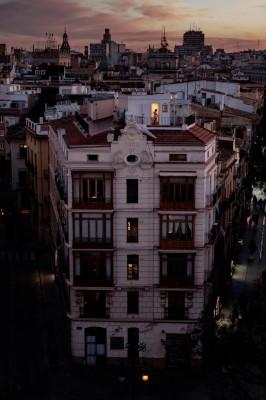 Von der Porta des Serrans - Blick über Valencia