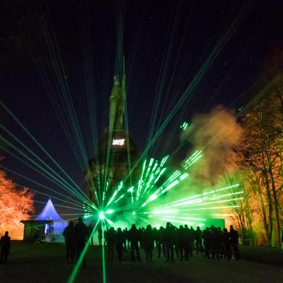 Der Hermann leuchtet 6.0 Hermannsdenkmal